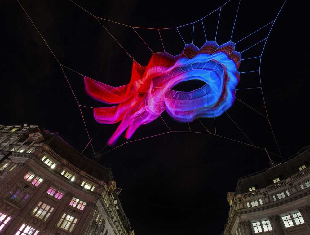 Lumiere London light festival