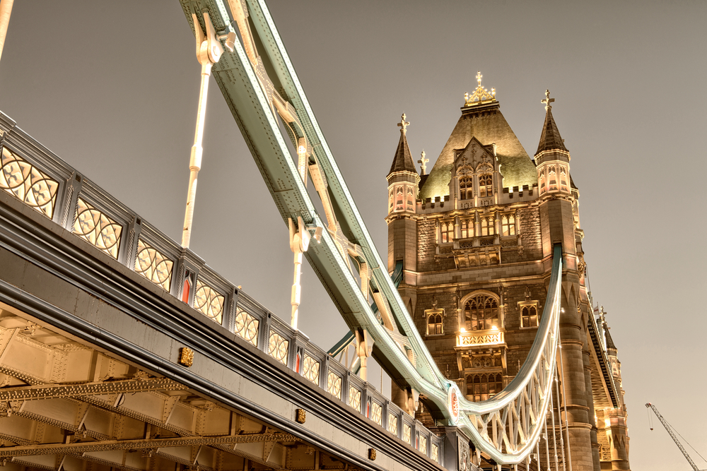 Iconic View of Tower Bridge London