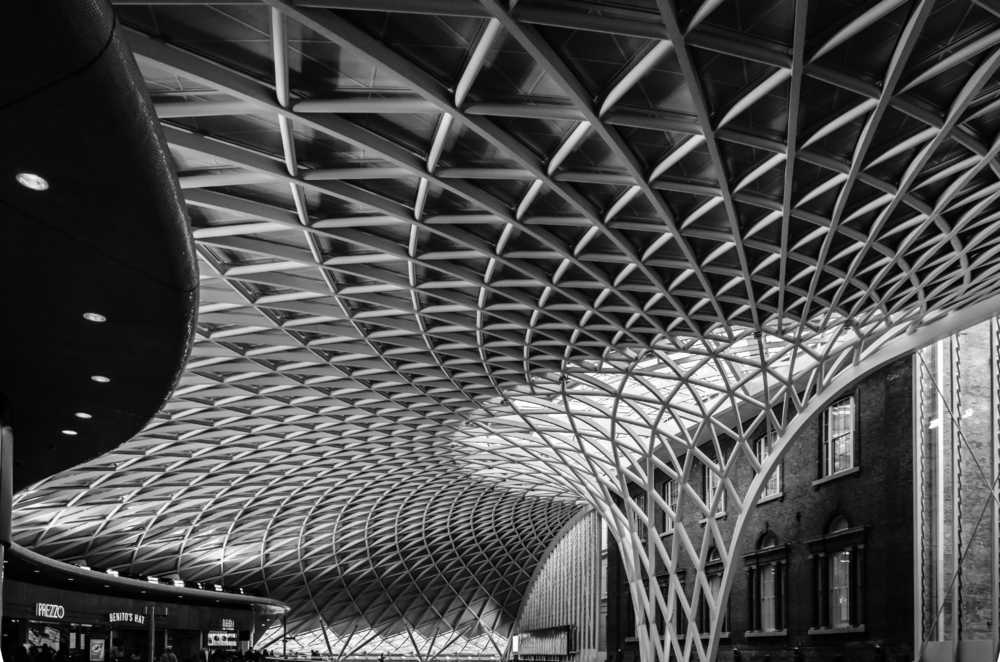 King's Cross London railway station