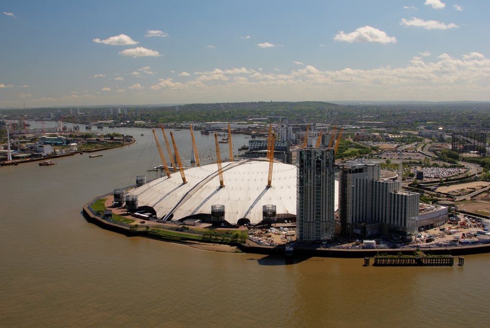 Scaling the heights: climb The O2 in North Greenwich