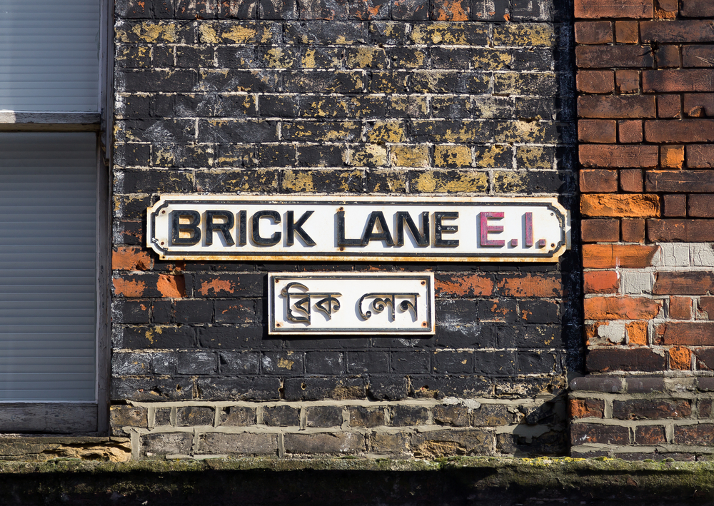 Brick Lane in London