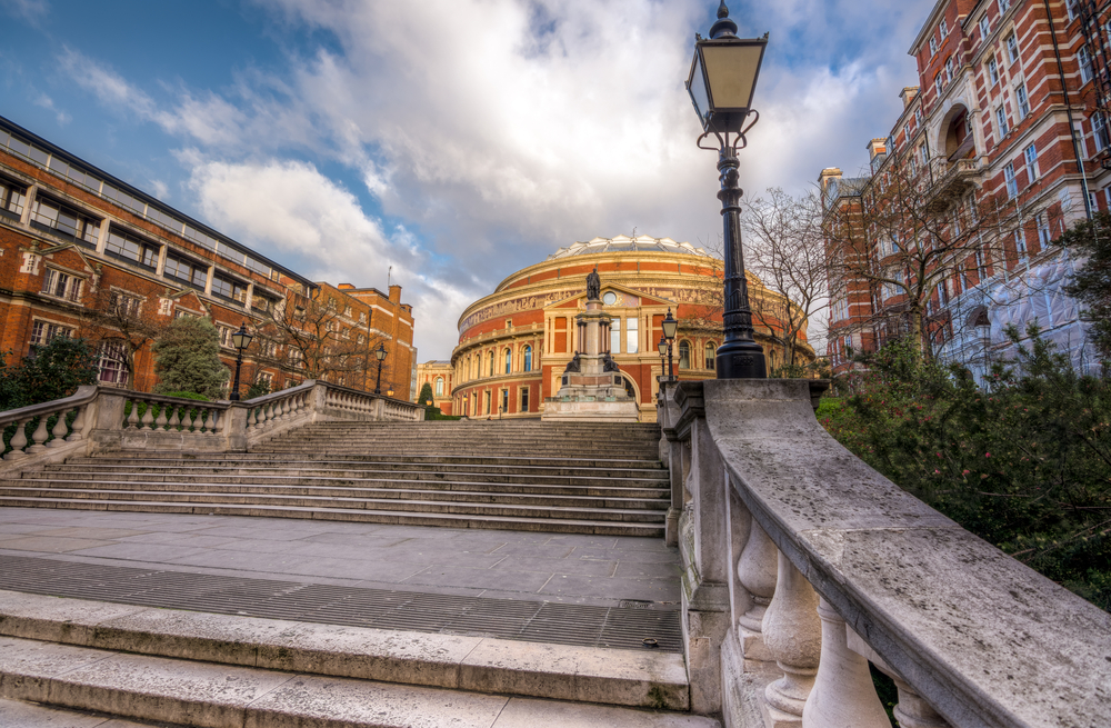 Royal Albert hall in south kensington, London, UK